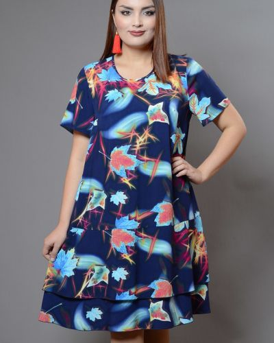 Летнее платье миди из штапеля Avigal (avrora)