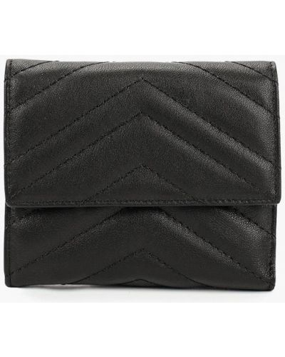 Черный кошелек итальянский Fabretti