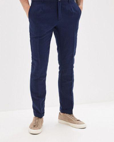 Зауженные брюки синий Mango Man