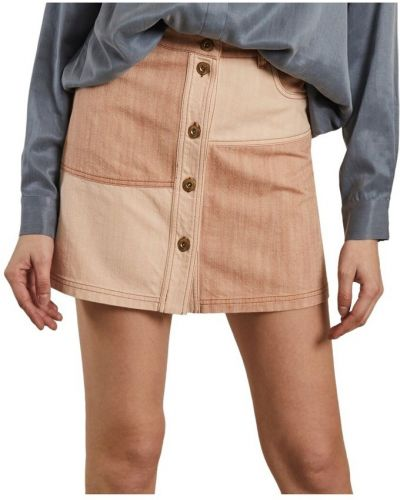 Beżowa spódnica mini Sessun