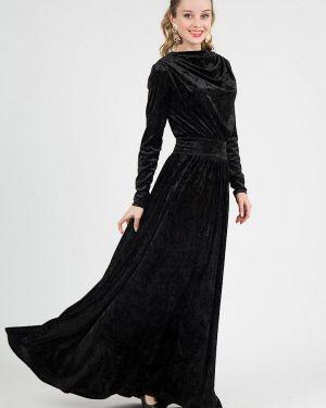 Вечернее платье осеннее черное Marichuell