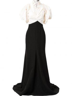 Biała sukienka z wiskozy Jenny Packham