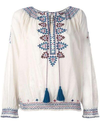Розовая блузка с вышивкой Talitha