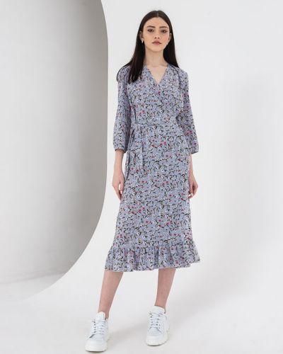 Повседневное платье - серое Vovk