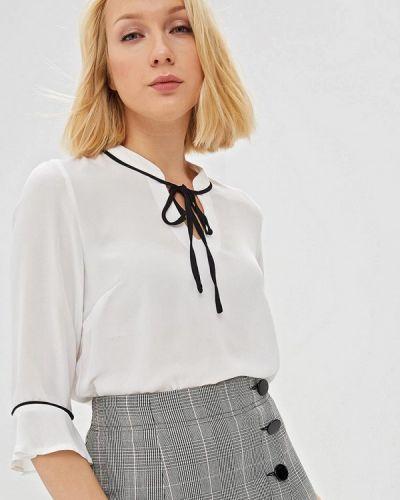 Блузка с длинным рукавом белая Almatrichi