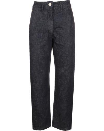 Niebieskie spodnie Lemaire