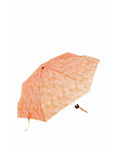 Оранжевый зонт складной C-collection
