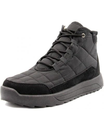 Ботинки на шнуровке - черные Progress