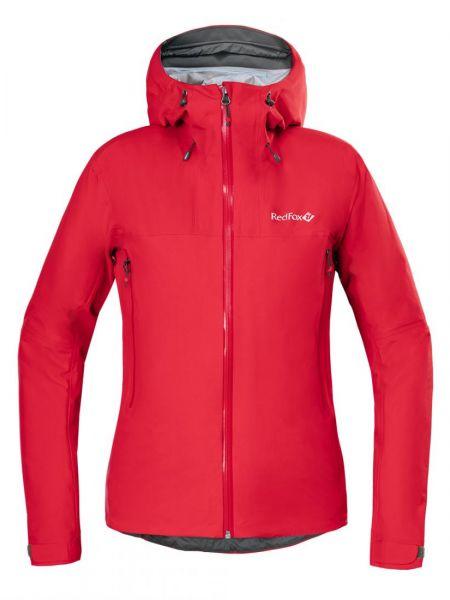 Куртка с капюшоном нейлоновая на молнии Red Fox