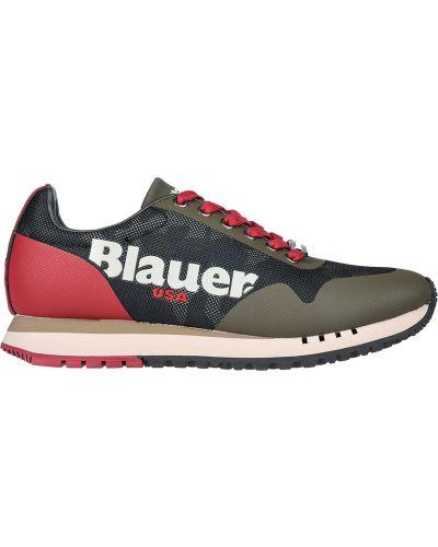 Кожаные кроссовки Blauer