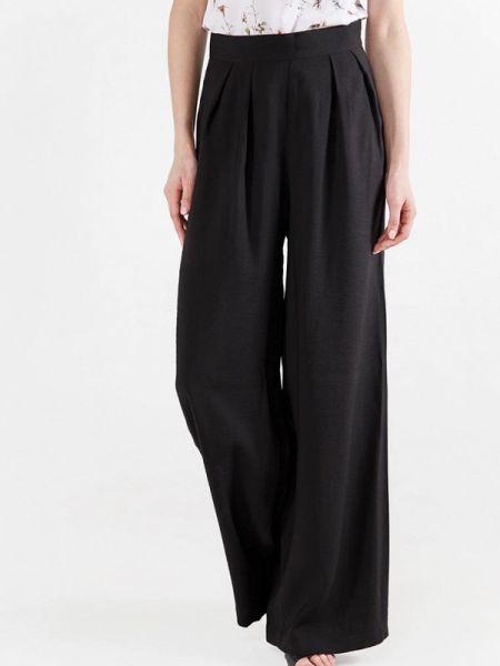 Свободные брюки расклешенные черные Remix