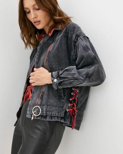 Джинсовая куртка - черная Grafinia