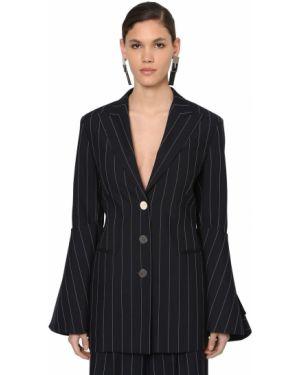Шерстяной пиджак с карманами с отворотом Loewe