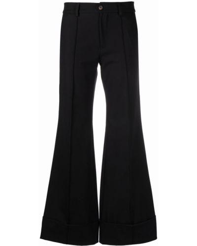 Хлопковые брюки - черные SociÉtÉ Anonyme