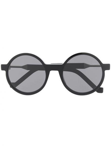 Czarne okulary srebrne Vava