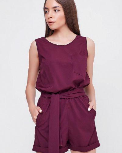 Комбинезон с шортами фиолетовый Sfn