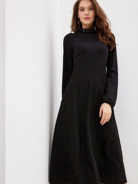 Платье осеннее прямое энсо