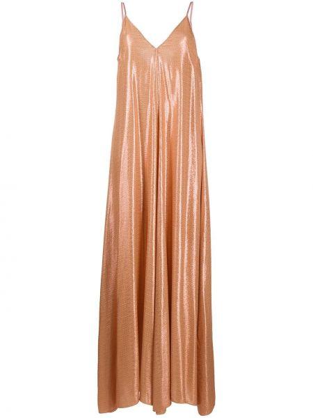 Платье макси из вискозы длинное Forte Forte