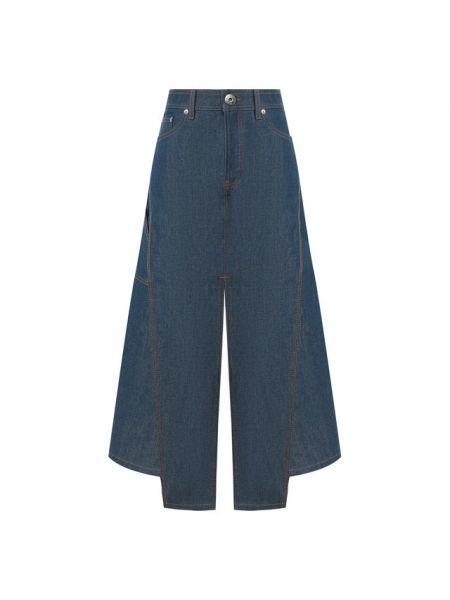 Юбка миди джинсовая классическая Lanvin