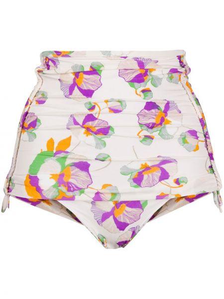 Пляжные белые бикини эластичные Isabel Marant