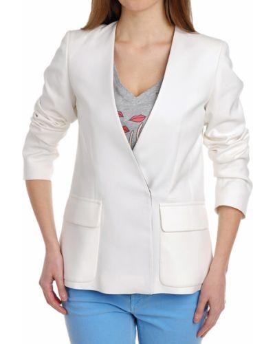 Пиджак белый из вискозы Paul & Joe