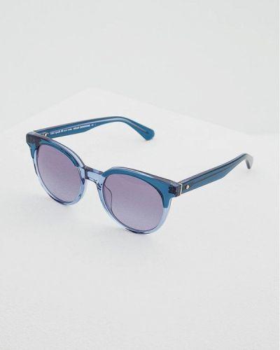 Синие солнцезащитные очки Kate Spade