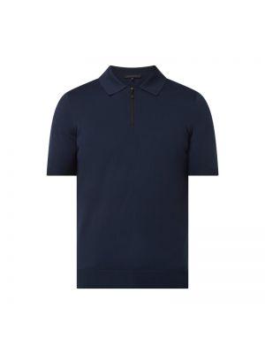 Niebieski t-shirt Drykorn