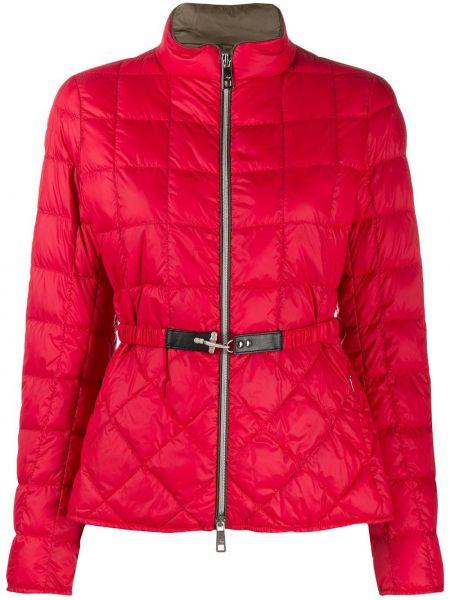 Стеганая куртка на молнии с карманами Fay