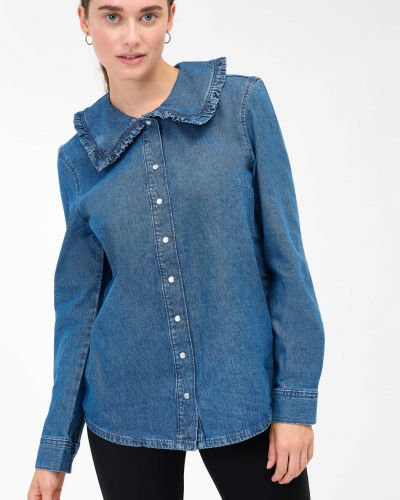 Koszula jeansowa - niebieska Orsay