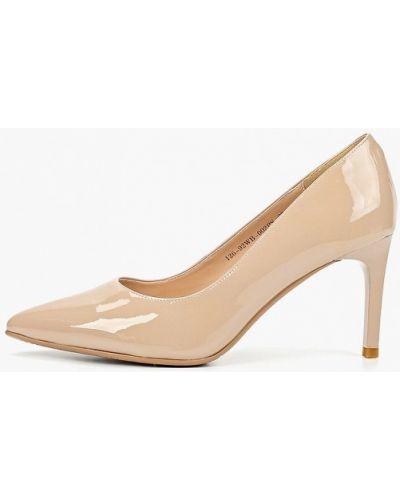 Туфли-лодочки на каблуке кожаные Zenden Collection