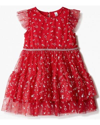 Красное платье на торжество Acoola