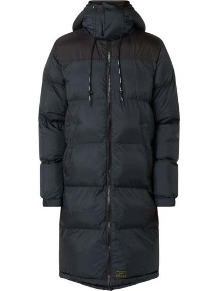 Czarna kurtka pikowana Khujo
