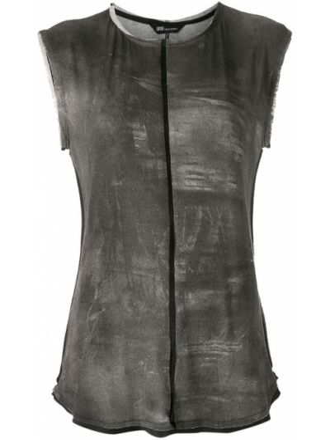 Блузка с короткими рукавами - черная Uma   Raquel Davidowicz
