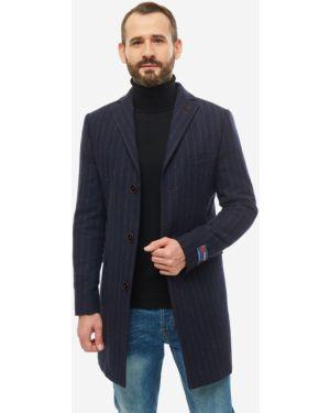 Пальто шерстяное в полоску Bolini