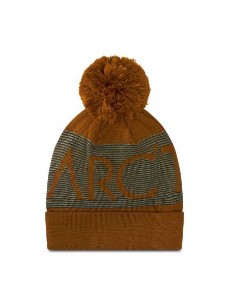Żółta czapka z akrylu Arcteryx