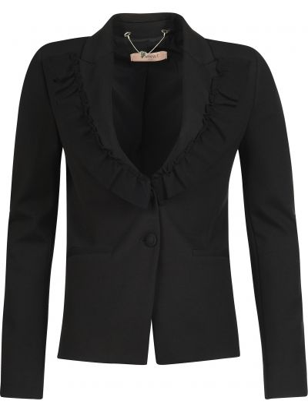 Пиджак черный из вискозы Twin-set