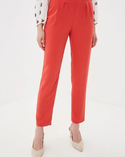 Классические брюки красный Yuna Style