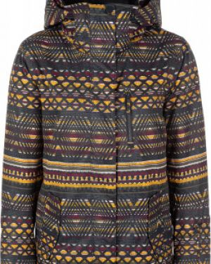 Зимняя куртка с капюшоном утепленная Roxy