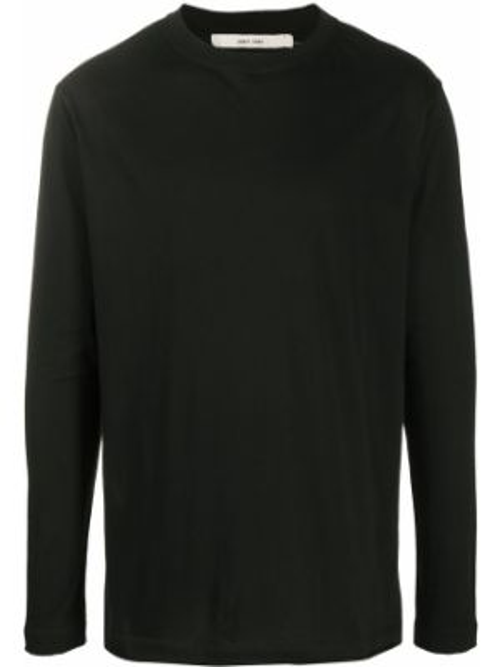 Czarny t-shirt z długimi rękawami bawełniany Damir Doma