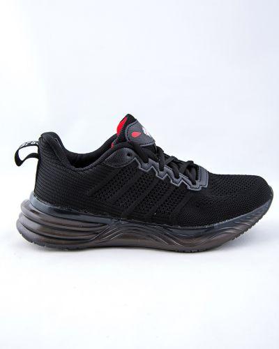Текстильные черные кроссовки Saijun