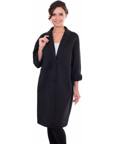 Пальто оверсайз с отложным воротником с воротником с карманами J-splash