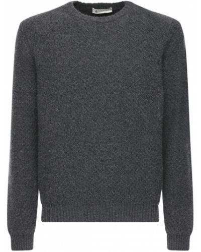 Prążkowany sweter wełniany Piacenza Cashmere