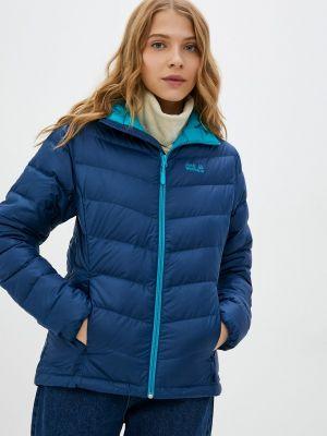 Утепленная куртка - синяя Jack Wolfskin