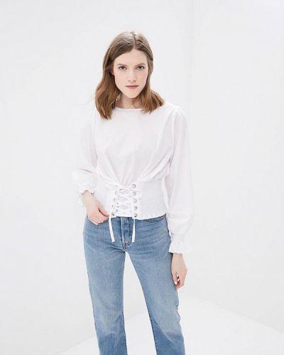 Белая блузка Morgan