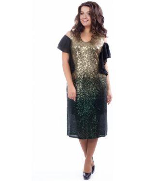 Вечернее платье с пайетками платье-сарафан Wisell