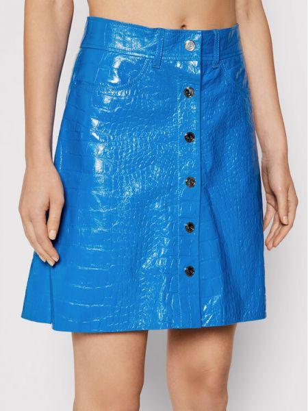 Niebieska spódniczka mini Remain