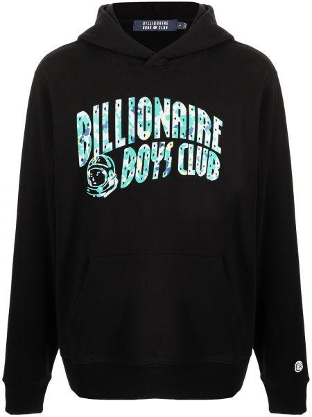 Черное худи длинное Billionaire Boys Club