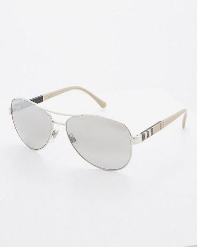 Солнцезащитные очки авиаторы Burberry