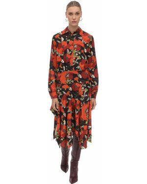 Платье с поясом на пуговицах на молнии Dodo Bar Or