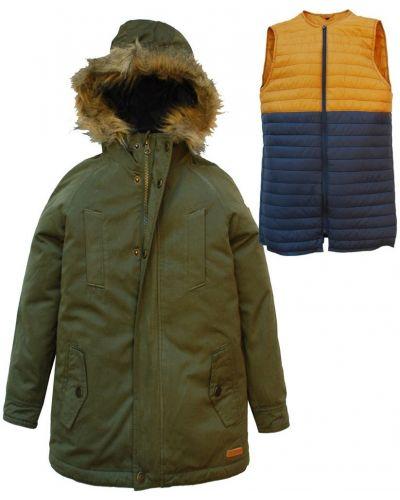 Куртка с капюшоном теплая Nativo